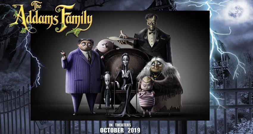 Los Locos Addams dan la bienvenida a casa a Charlize Theron y Oscar Isaac