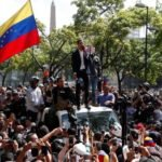 (FOTOS) Operación Libertad liderado por Juan Guaidó y Leopoldo López en Caracas