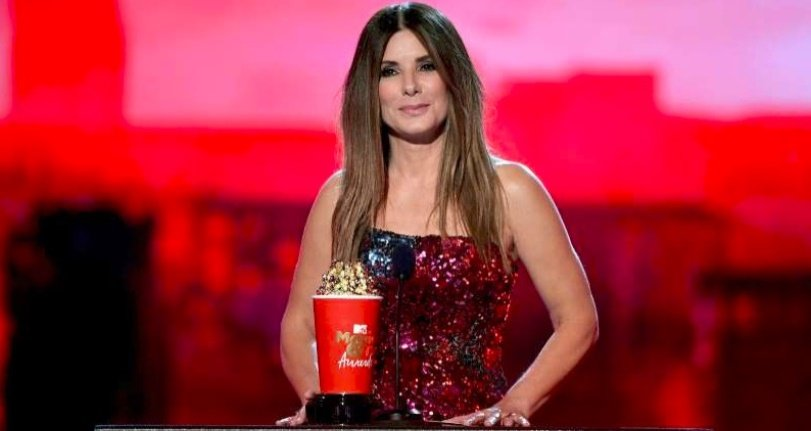 Sandra Bullock dedica el premio MTV Movie & TV Award 2019 a sus hijos