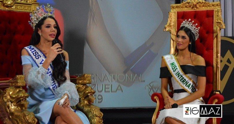 Thalia Olvino y Melissa Jiménez en el encuentro con la prensa