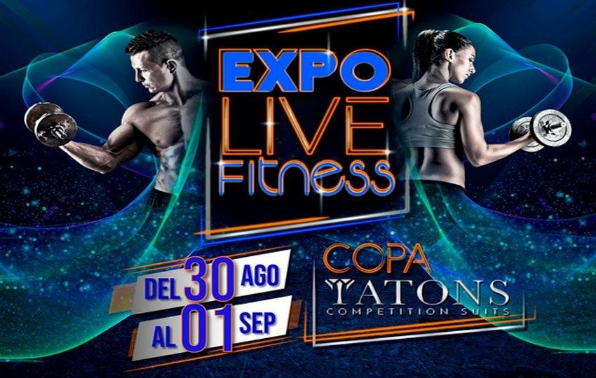 Expo Live Fitness en el Hotel Eurobuilding