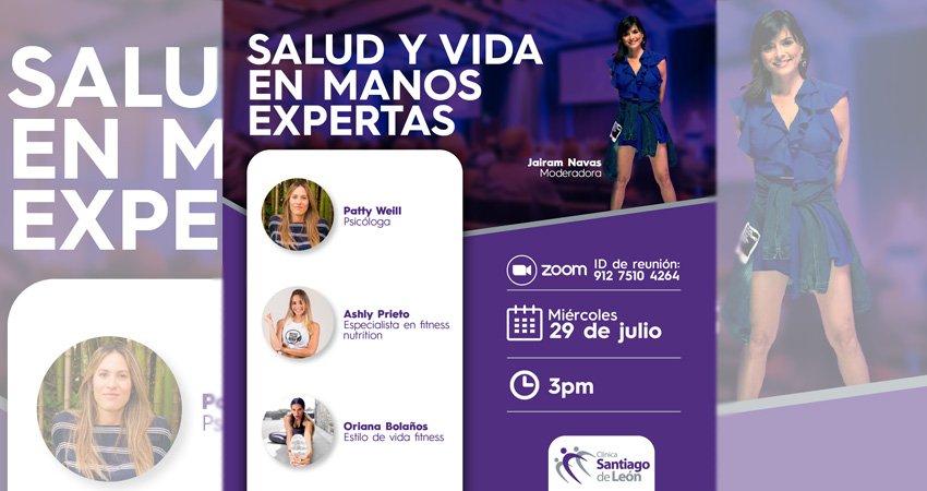 'Salud y Vida en Manos Expertas' una iniciativa de la Clínica Santiago de León